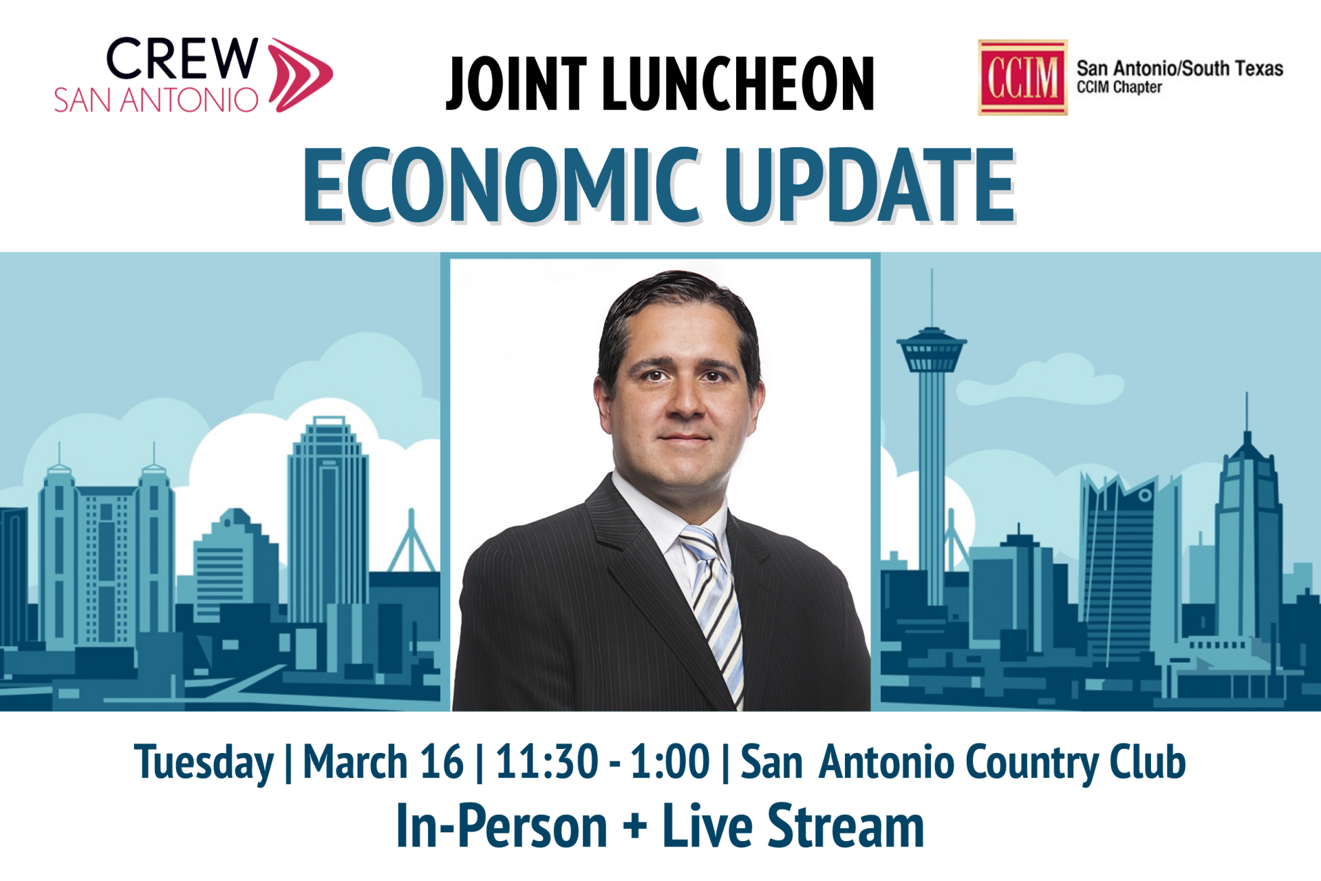 March joint luncheon graphic